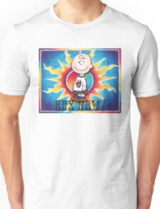 Hey Now!!! Charlie Brown Unisex T-Shirt