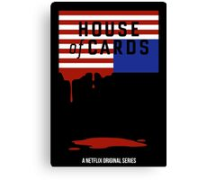 "House of Cards - ""Casualties"" Canvas Print"