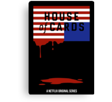"""House of Cards - """"Casualties"""" Canvas Print"""