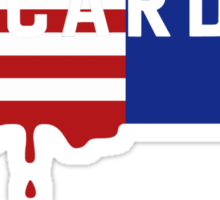 """House of Cards - """"Casualties"""" Sticker"""