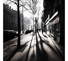 paris stroll Photographic Print