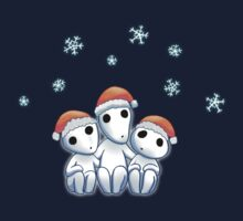 Tree Spirit Friends Christmas- Mononoke #2 Kids Tee