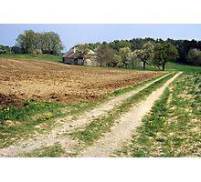 Ye Old Farm Photographic Print