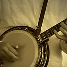 Strummin' On The Old Banjo by Julie's Camera Creations