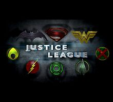Justice League Calendar v2.0 by BigRockDJ