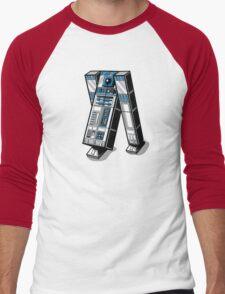 TAR2D2 Men's Baseball ¾ T-Shirt