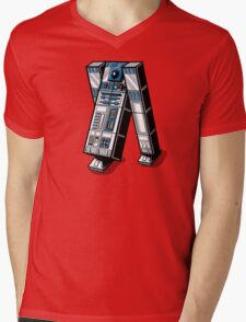 TAR2D2 Mens V-Neck T-Shirt