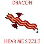 Dracon the Bacon Dragon by Dayinara