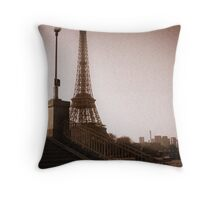La Dame en Rouge Throw Pillow