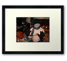 Christmas morning #1 Framed Print