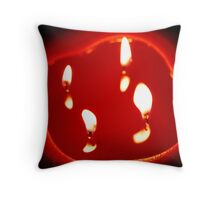 The Melting of my Heart Throw Pillow