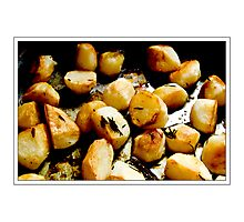Roast Potato Photographic Print