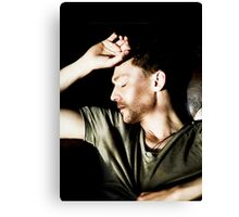 Sleeping Tom Canvas Print