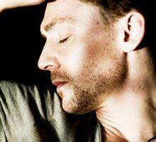 Sleeping Tom Sticker