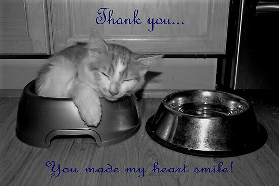 Thank You Card by Kalena Chappell