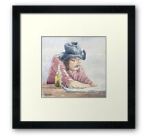 THE MELLOW SIDE OF LIFE Framed Print