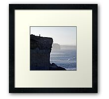 Carried Away by the Moment Framed Print