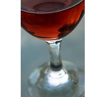 Red wine Photographic Print