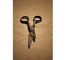 Scissors Photographic Print