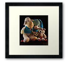 HUGS FOR CHRISTMAS Framed Print
