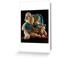 HUGS FOR CHRISTMAS Greeting Card
