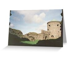A peaceful day at the old fortress Greeting Card