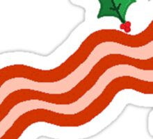 Merry Cripsness Bacon Design #2 Sticker