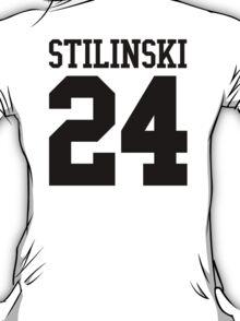 Stiles Stilinski Jersey #24 - Black Text T-Shirt