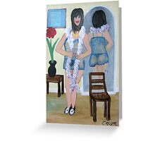 Your Private Dancer Greeting Card