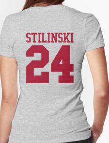 Stiles Stilinski Jersey #24 - Red Text T-Shirt