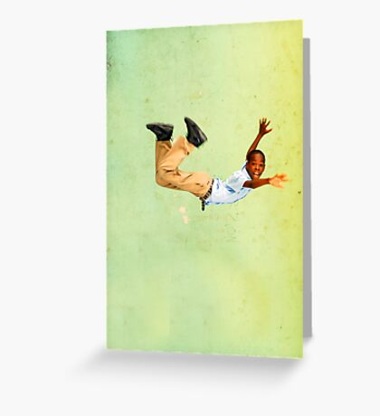 New Icarus Greeting Card