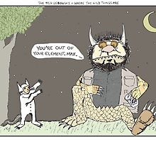 The Big Lebowski + Where the Wild Things Are by altanimus