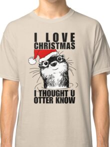Christmas Otter Classic T-Shirt
