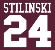 Stiles Stilinski Jersey #24 - White Text by EIDO