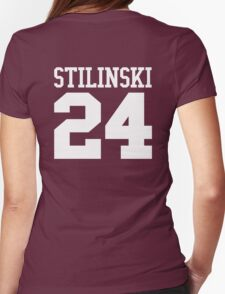 Stiles Stilinski Jersey #24 - White Text T-Shirt