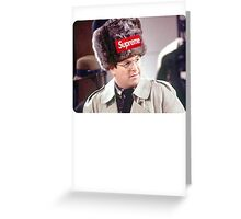 Supreme Costanza Greeting Card