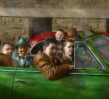 Americana - The good ol boys by Mike  Savad