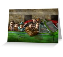 Americana - The good ol boys Greeting Card