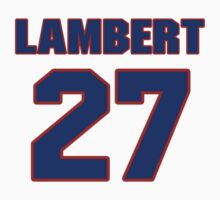 National Hockey player Denny Lambert jersey 27 by imsport