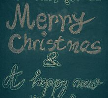 We wish you a Merry Christmas and a happy new year by Stanciuc