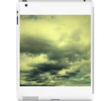 Yellow clouds bigger iPad Case/Skin