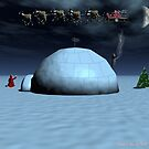 Santa's Yearly Trek by kenmo