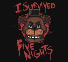 I Survived Five Nights At Freddy's Pizzeria Kids Clothes