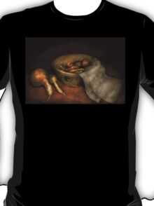 Kitchen - Vegetable - A still life with gourds T-Shirt