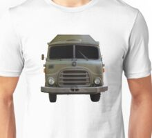 Isolated Army Truck From Front Unisex T-Shirt