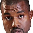 Kanye west head by jgaines247