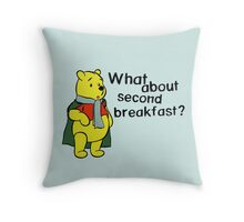 What about second breakfast? Throw Pillow