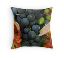 G R A P E Throw Pillow