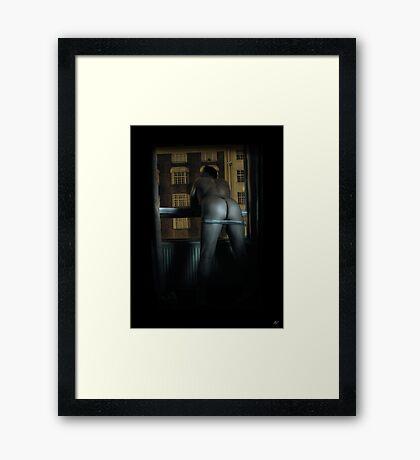 A London Bum Framed Print