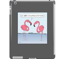 Flamingos Cartoon iPad Case/Skin